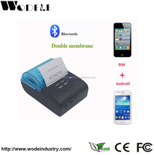 Smartphone mobile bluetooth printer computer printer ticket printer for parking ticket