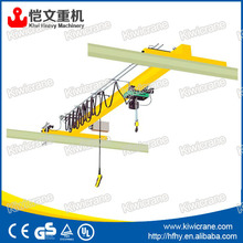QA bridge crane electric overhead crane 2 ton 4000lb single girder EOT crane