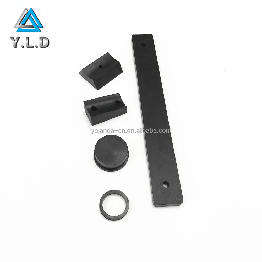 Rapid Production Factory Custom Black NBR Rubber Molded Accessories