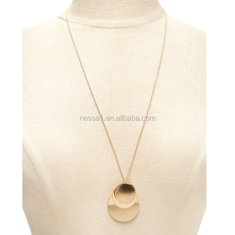 Fashion Gold Long Chain Necklace wholesales NS800822