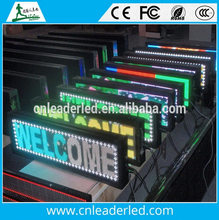 Leader SMD RGB Full Color Programmable LED Sign Open Running Scrolling Message Display Board