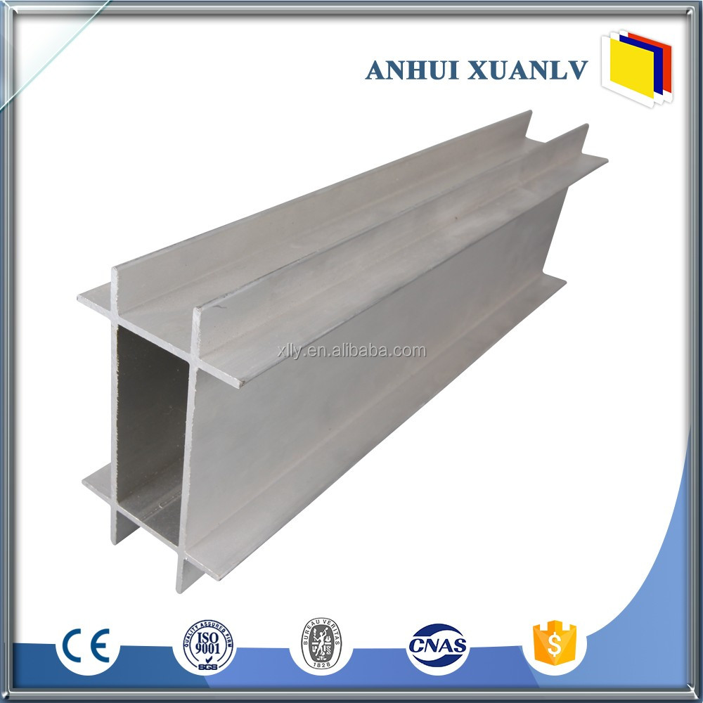 Aluminum anodized powder coating extrusion profiles for doors and window 2017 newest surface treatment