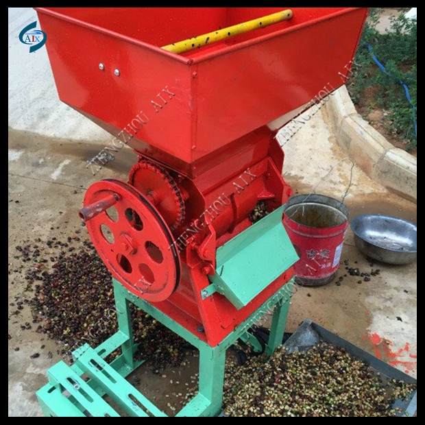 Electric motor 1.2kw coffee pulper machine for coffee pulper