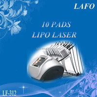 10 Paddles Lipo Laser Slimming Machine/ Best Lipo Laser Body Slimming (hot in europe!!)