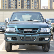 Factory price small pickup van truck for transport explosive single and double cab options qingling isuzu