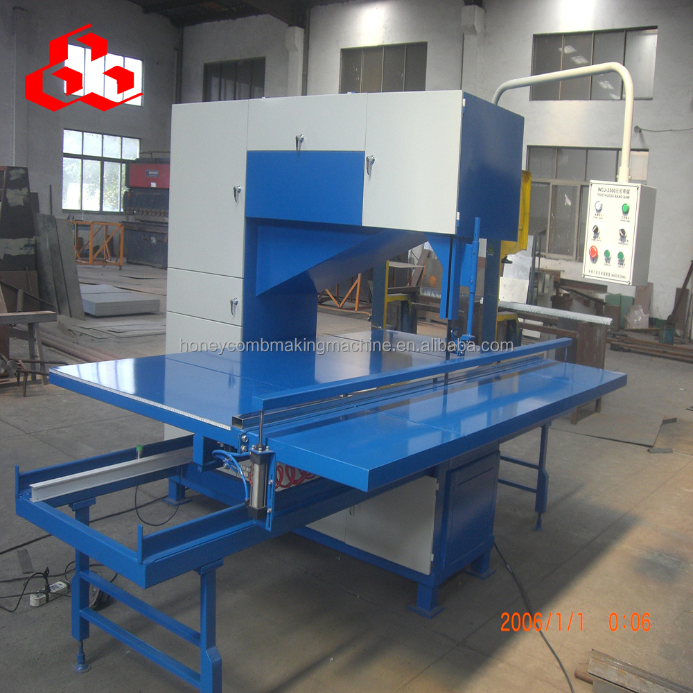 Honeycomb Board Cutting Band Saw Machine