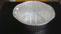 cheap Aluminium Foil Bakeware container Oval Cake