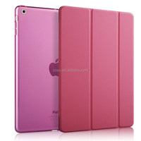 Tablet luxruy Case Cover Super Slim Smart Cover Case For ipad air,genuine leather
