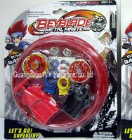 BEYBLADE TOP FLIGHT RAPIDITY METAL FUSION STRING LAUNCHER TOY SET