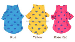 Top selling cotton Colorful pet clothes dog