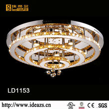 led ceiling lamp with remote control led crystal ceiling lamp