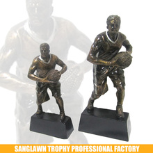 Resin Sports Figures Basketball Kits For Students' Trophy