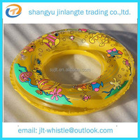 Logo Printed PVC Inflatable Customzied Swimming Ring