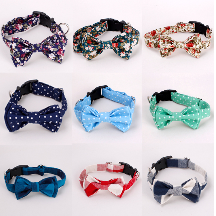Wholesale 2016 Pet Products Clothes Accessories Dog Bow Ties