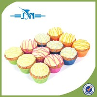 silicone cheesecake pan 6 cup mini muffin pan with CE certificate