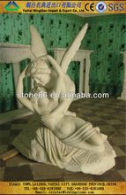 Technology natural stone candle statue