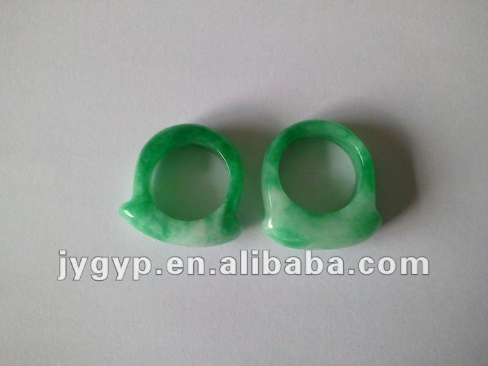 2014 gift vintage jade ring made in China