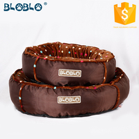 Factory price wholesale washable round bed for dogs
