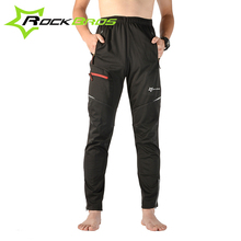 ROCKBROS Autumn Winter Windproof Thermal Cycling Pants Cycling Clothing Bicycle Pants Riding Bike Pants Black