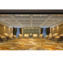 New Design China Supplier of Top Quality Floral Patterns Luxury Restaurant Wilton Carpet