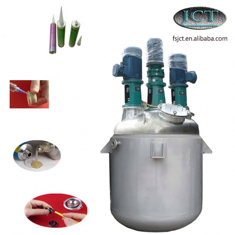 pvc solvent cement adhesive machine/reactor/cracking kettle