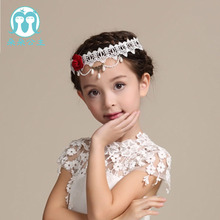 2017 Hot Sale New Arrival Fashion Flower Wedding Hair Accessories Pearl Headdress
