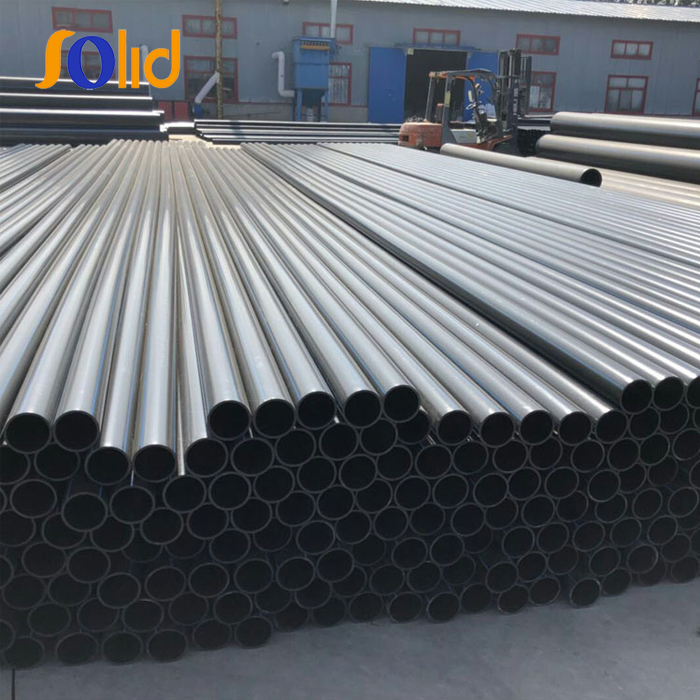 PE Material Water Plastic Water Supply HDPE Pipe PN10
