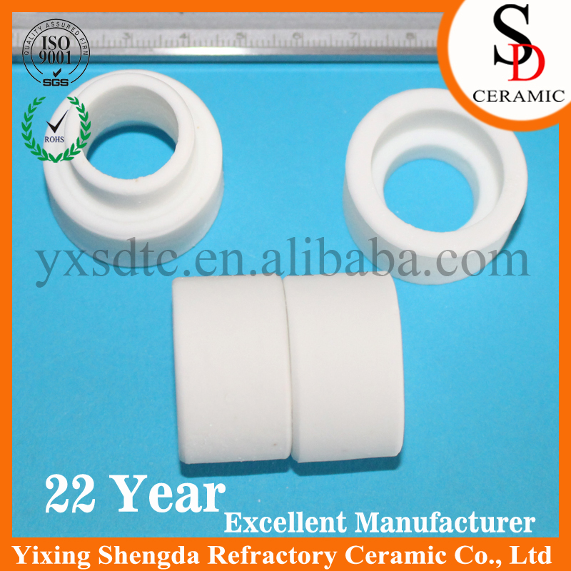 Factory direct sales quartz tubes used ceramic head steatite ceramic cover manufactured in China