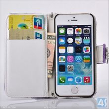 For iPhone 5/5S Women Wallet Leather Case Handbag P-IPH5CASE147