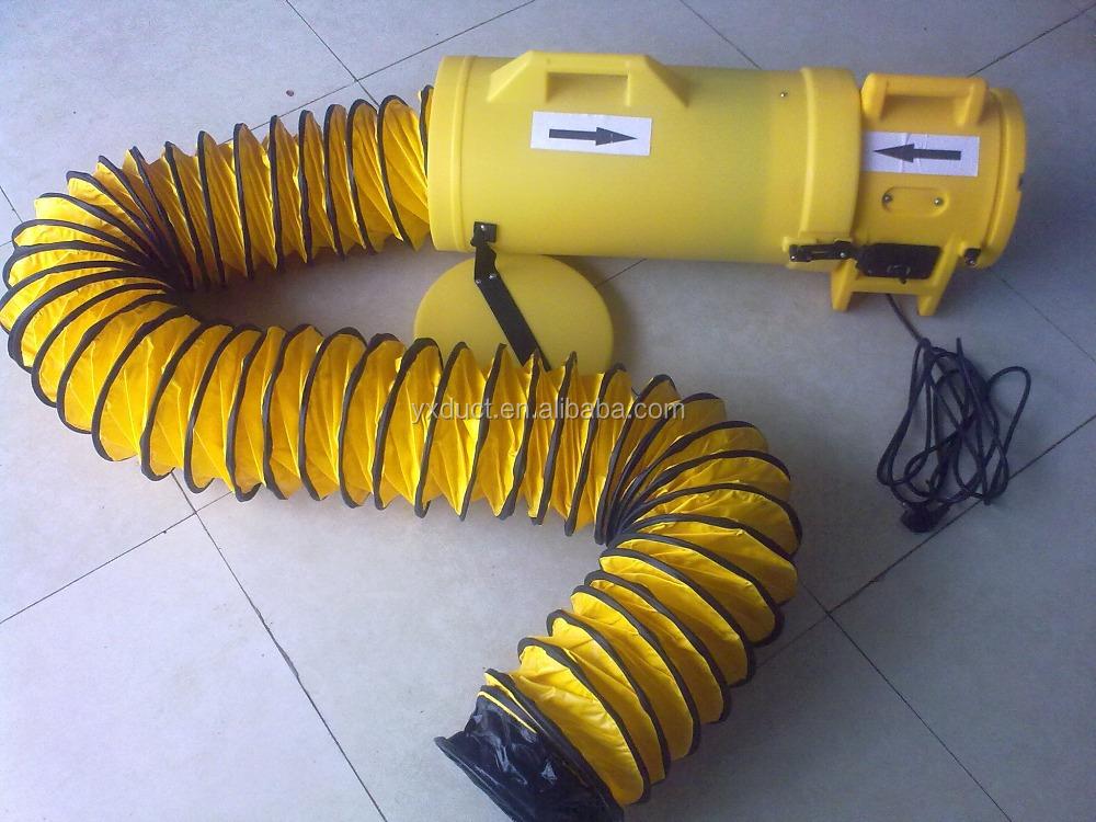 Portable Exhaust Blower : Low noise plastics portable ventilator air blower exhaust