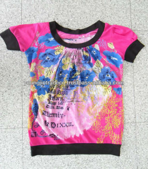 Korean Used Clothing, Ladies' Special/Fashion T-Shirts for Africa
