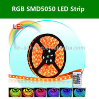 5m waterproof SMD5050 60LED/m DC12v RGB LED strip