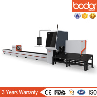 optical fiber laser tube cutting machine for carbon steel stainless steel wifi control moblie control