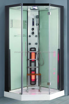 Large Corner Steam Shower 1000*1000*2150mm with temper glass