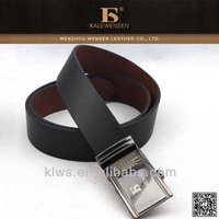 automatic buckle,Black fashion metal plate belt