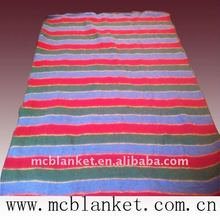 relief blanket refugee blanket made of 100%recycled home textile