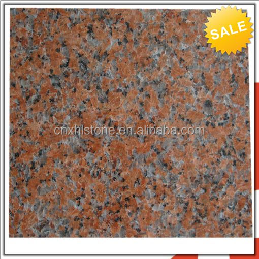Beautiful Cheap Maple Red Imitation Granite