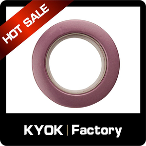 KYOK Plastic beads bathroom shower curtain rings,circular double curtain rod rings,glide shaped shower curtain roller rings