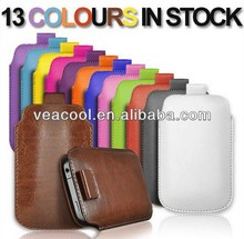 Mini Leather Case Pull Tab Pouch Cover Skin For Samsung Galaxy Note3 Note iii N9000 N9005 Mobile Phone Accessories 13 Colors