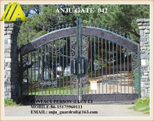 steel Gate-042 cassical best-selling durable main gate steel door