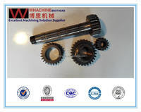 High Precision concrete mixer gears Used For AUTO Cars made by WhachineBrothers ltd.