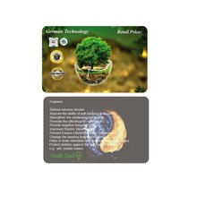 Card Power Saver Energy Saver Card Bio Negative Ions Energy Electricity Fuel Saver Card 2000-16000 ions