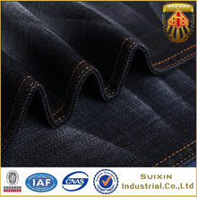 SuiXin supplier good quality blue gray mix color denim jeans fabric