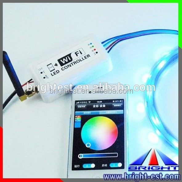RGB Strip Controller for Android or IOS System mobil phone DC12-24V RF WiFi LED Controller