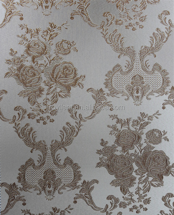 Gold foil wall fabric/ wallpaper for household