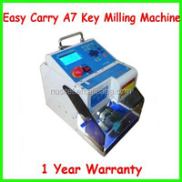 MIRACLE-A7 full automatic electronic three-axe key cutting machine,key cutter