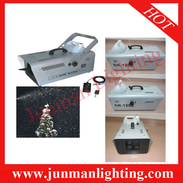 1200W Snow Machine DJ Stage Effect Lighting Disco Light Fog Machine