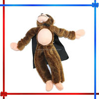 MW062 monkey screaming flying slingshot plush toys