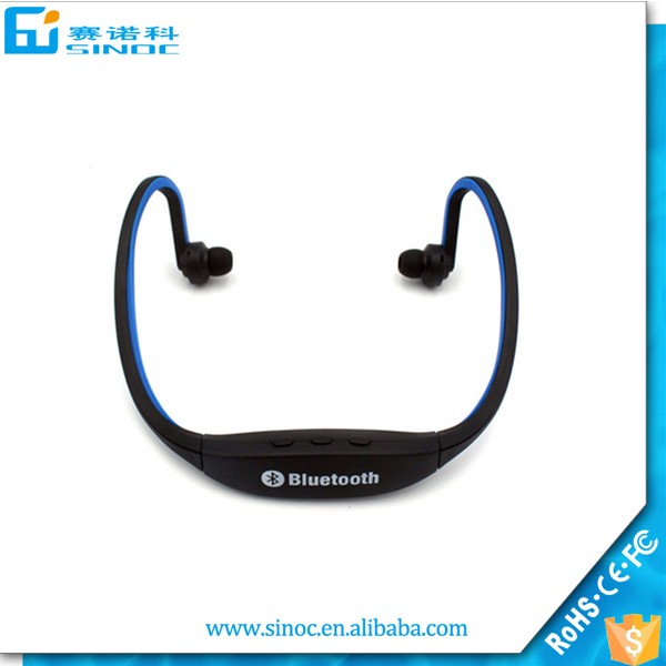 Mobile phone accessoies of bluetooth headphone for sport wireless headphone S9