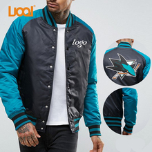 New Design Factory Price Comfortable Baseball Jacket 100% Polyester Wholesale Cheap Men Jackets